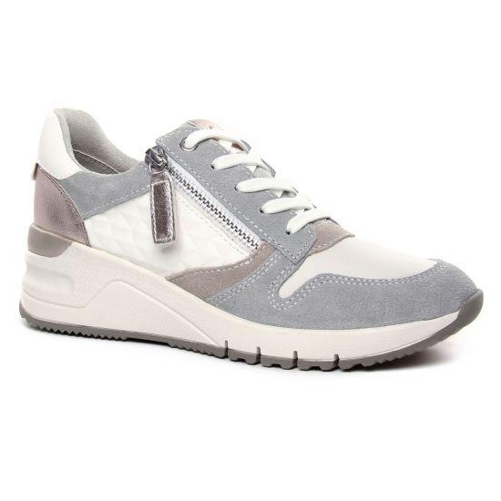 Tennis Et Baskets Mode Tamaris 23702 White Comb, vue principale de la chaussure femme