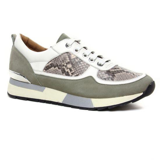 Tennis Et Baskets Mode Emilie Karston Siani Cendre, vue principale de la chaussure femme