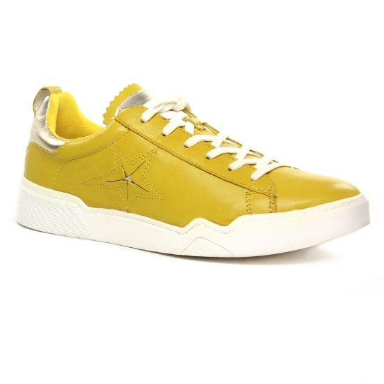 Tennis Et Baskets Mode Tamaris 23754 Saffron L Gold, vue principale de la chaussure femme