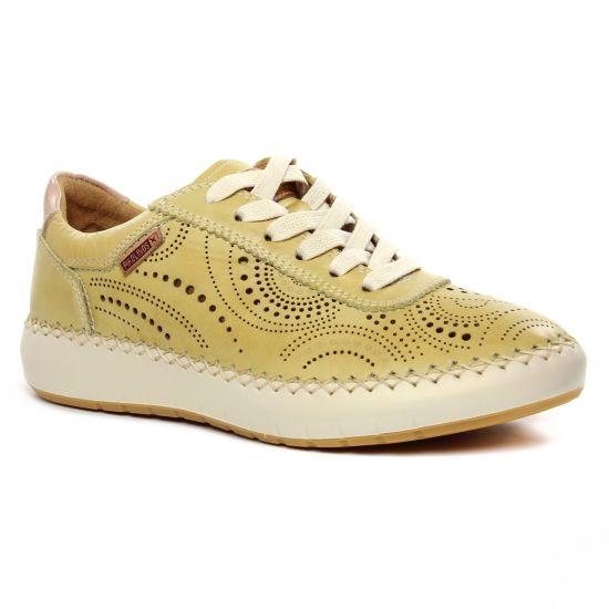 Tennis Et Baskets Mode Pikolinos Mesina W6B-6996 Sol, vue principale de la chaussure femme