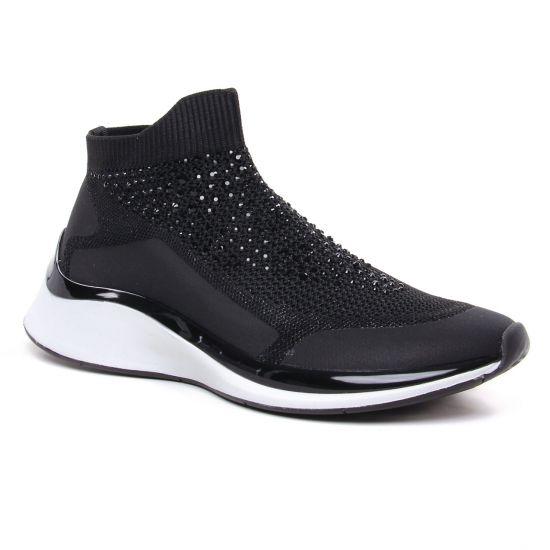 Tennis Et Baskets Mode Tamaris 25403 Black, vue principale de la chaussure femme