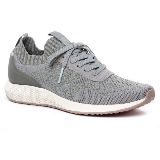 Tennis Et Baskets Mode Tamaris 23714 Light Olive, vue principale de la chaussure femme