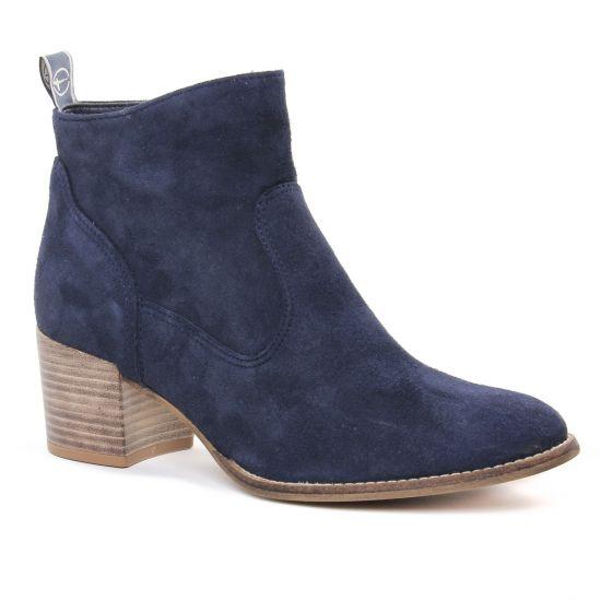 Bottines Et Boots Tamaris 25350 Navy, vue principale de la chaussure femme