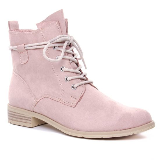 Bottines Et Boots Marco Tozzi 25100 Rose, vue principale de la chaussure femme