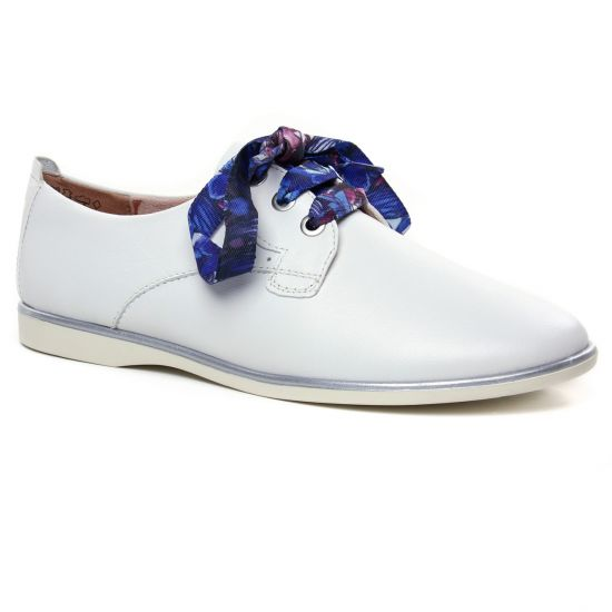 Chaussures À Lacets Tamaris 23219 White, vue principale de la chaussure femme