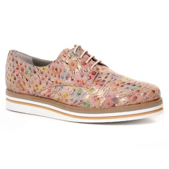 Chaussures À Lacets Dorking Romy D7850 Saumon, vue principale de la chaussure femme
