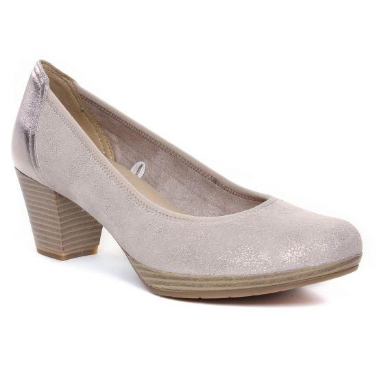 Escarpins Marco Tozzi 22420 Dune Met Comb, vue principale de la chaussure femme