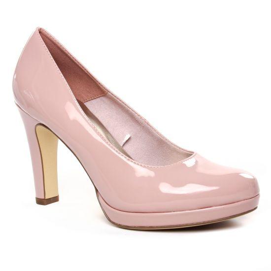 Escarpins Tamaris 22426 Rose Patent, vue principale de la chaussure femme