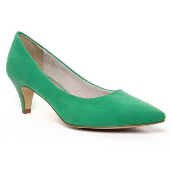 Escarpins Tamaris 22415 Emerald, vue principale de la chaussure femme
