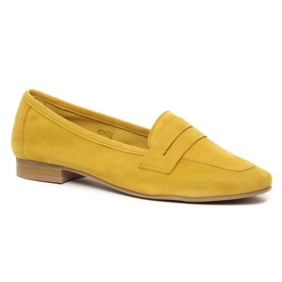 Mocassins Scarlatine 11029An Limone, vue principale de la chaussure femme