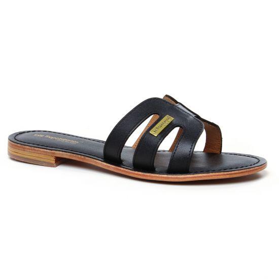 Nu Pieds Et Sandales Les Tropeziennes Damia Noir, vue principale de la chaussure femme