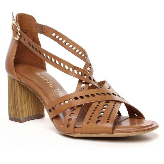 Nu Pieds Et Sandales Tamaris 28052 Cognac, vue principale de la chaussure femme