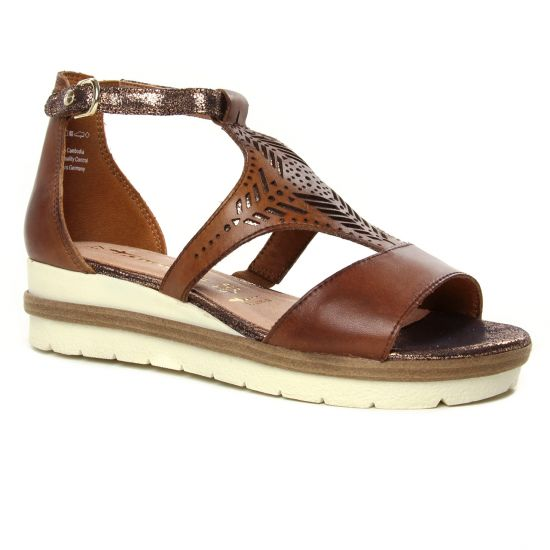 Nu Pieds Et Sandales Tamaris 28228 Nut Comb, vue principale de la chaussure femme