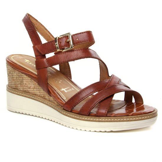 Nu Pieds Et Sandales Tamaris 28349 Brandy, vue principale de la chaussure femme