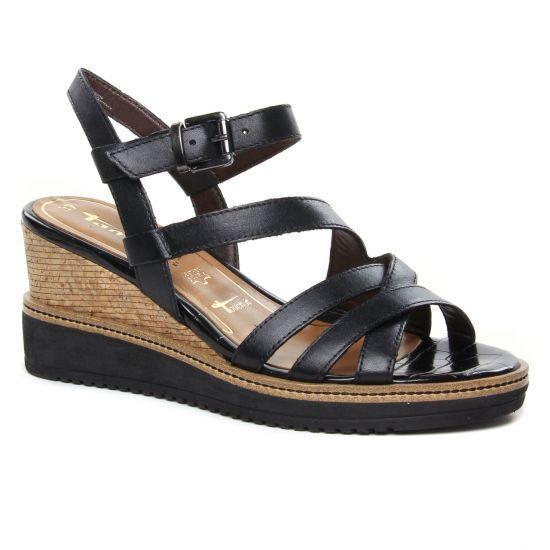 Nu Pieds Et Sandales Tamaris 28349 Black, vue principale de la chaussure femme