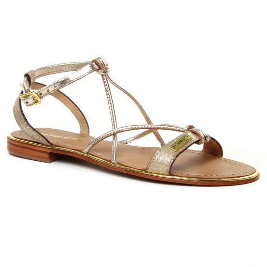 Nu Pieds Et Sandales Les Tropeziennes Hirondel Or Irise, vue principale de la chaussure femme