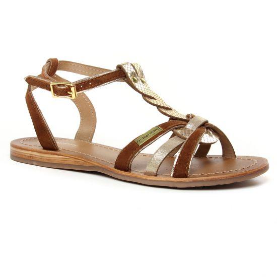 Nu Pieds Et Sandales Les Tropeziennes Hamuc Tan, vue principale de la chaussure femme