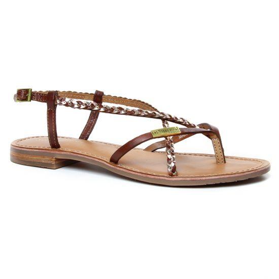 Nu Pieds Et Sandales Les Tropeziennes Monatres Tan Or, vue principale de la chaussure femme