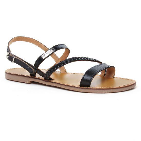 Nu Pieds Et Sandales Les Tropeziennes Batresse Noir, vue principale de la chaussure femme