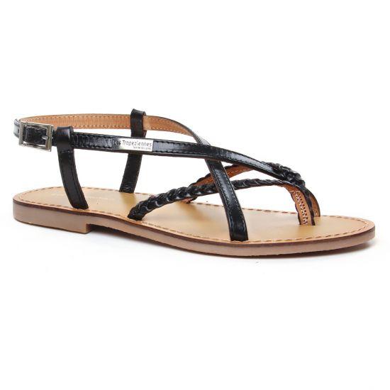 Nu Pieds Et Sandales Les Tropeziennes Chou Noir, vue principale de la chaussure femme
