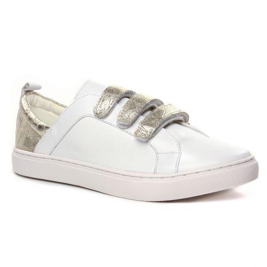 Tennis Et Baskets Mode Emilie Karston Tapou Blanc, vue principale de la chaussure femme