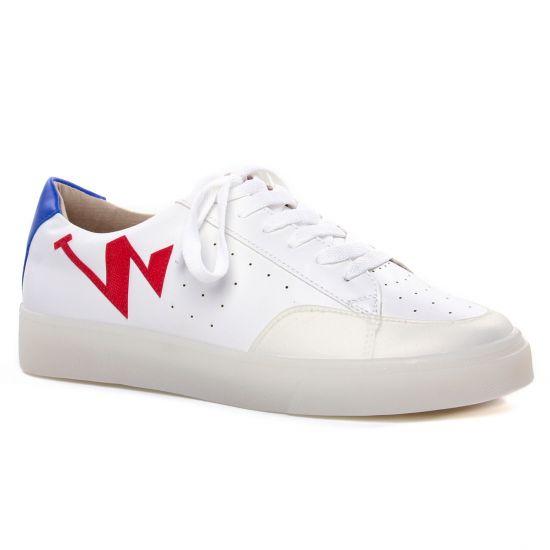 Tennis Et Baskets Mode Vanessa Wu Bk2070 Rouge, vue principale de la chaussure femme