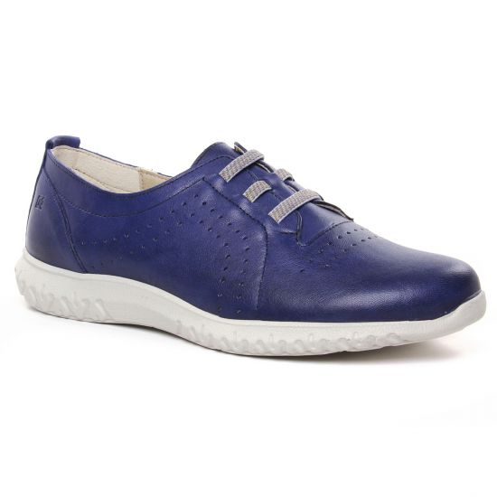 Tennis Et Baskets Mode Dorking Silver D8229 Royal, vue principale de la chaussure femme