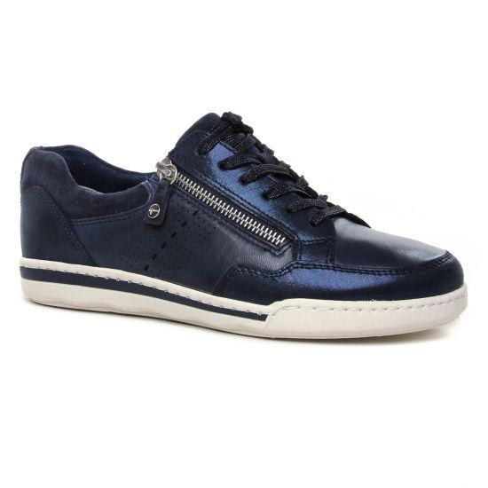 Tennis Et Baskets Mode Tamaris 23619 Navy Comb, vue principale de la chaussure femme
