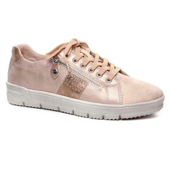 Tennis Et Baskets Mode Tamaris 23605 Rose Comb, vue principale de la chaussure femme