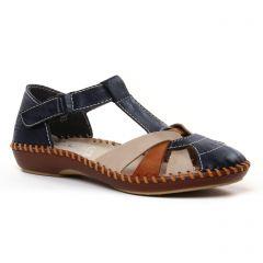 Chaussures femme été 2021 - babies rieker bleu marine