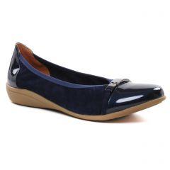 Chaussures femme été 2021 - ballerines confort Sweet bleu marine