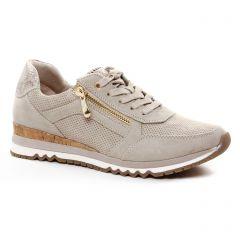 baskets-compensees beige: même style de chaussures en ligne pour femmes que les Marco Tozzi