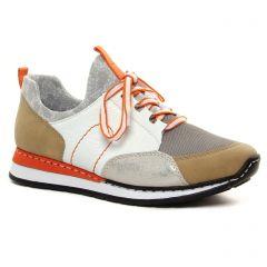 baskets-mode multicolore: même style de chaussures en ligne pour femmes que les Rieker