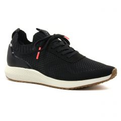 Chaussures femme été 2021 - baskets mode tamaris noir