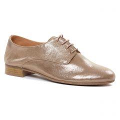 derbys beige doré: même style de chaussures en ligne pour femmes que les Scarlatine