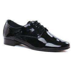 Chaussures femme été 2021 - derbys Scarlatine noir vernis