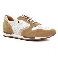 baskets-mode beige blanc: même style de chaussures en ligne pour femmes que les Regarde Le Ciel