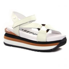 nu-pieds-talons-compenses blanc cassé: même style de chaussures en ligne pour femmes que les Tamaris