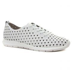 tennis blanc multi: même style de chaussures en ligne pour femmes que les Remonte