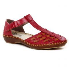 Chaussures femme été 2021 - babies confort rieker bordeaux