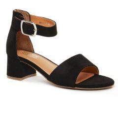 nu-pieds-talon noir: même style de chaussures en ligne pour femmes que les Regarde Le Ciel