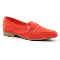 Chaussures femme été 2021 - mocassins marco tozzi orange