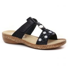 mules marine: même style de chaussures en ligne pour femmes que les Tamaris