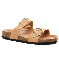 mules marron clair: même style de chaussures en ligne pour femmes que les Tamaris