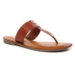 Chaussures femme été 2021 - mules tamaris marron