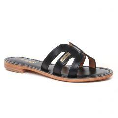 Chaussures femme été 2021 - mules les tropéziennes noir
