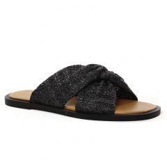 Chaussures femme été 2021 - mules Vanessa Wu noir