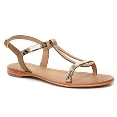 Chaussures femme été 2021 - sandales les tropéziennes beige léopard