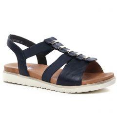 Chaussures femme été 2021 - sandales rieker bleu marine