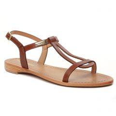 Chaussures femme été 2021 - nu-pieds et sandales les tropéziennes marron